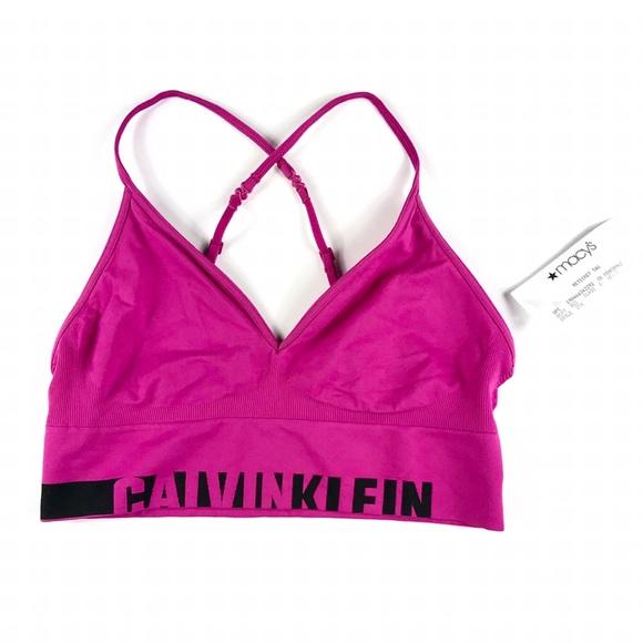87b5d550829 Calvin Klein Women Sport Bra Pink. NWT